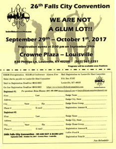 26th Falls City Convention @ Crowne Plaza Louisville   Louisville   Kentucky   United States