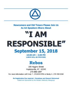 I Am Responsible @ Rebos Club