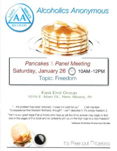 Pancakes & Panel Meeting @ St. Paul's Episcopal Church