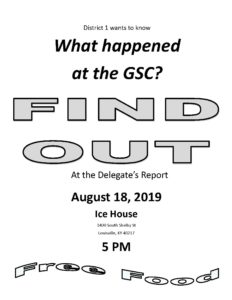 Find Out What Happened @ GSC @ Ice House